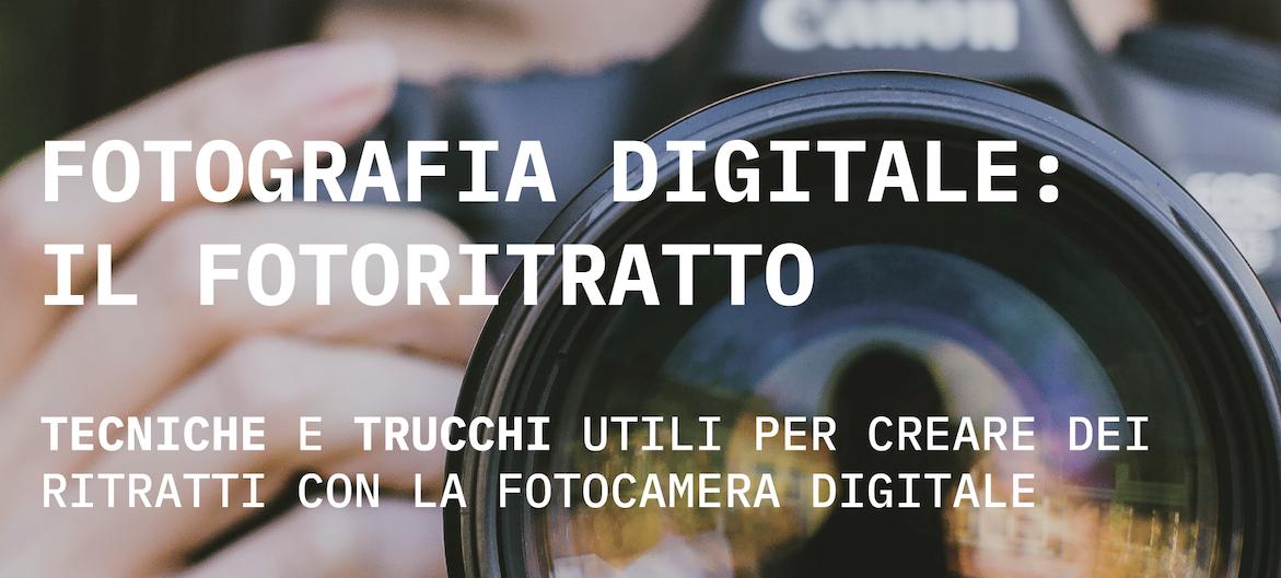 Fotografia digitale – il fotoritratto